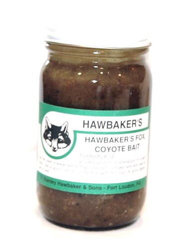 Hawbaker's Fox and Coyote Bait- 8 Ounce HAWBFC14